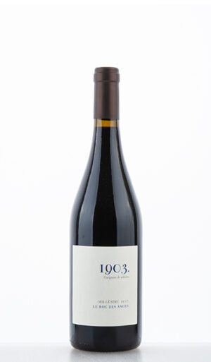 1903 Carignan Côtes Catalanes rouge IGP 2017 Roc des Anges