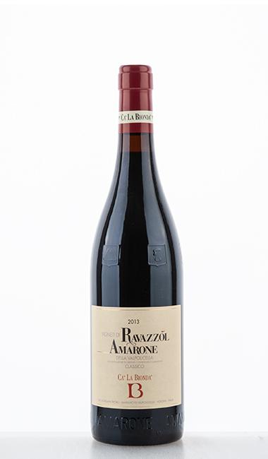 Amarone della Valpolicella Classico DOC Vigneti di Ravazzol 2013 Cà la Bionda