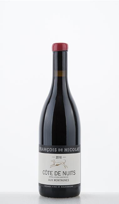 Côte de Nuits Rouge Aux Montagnes 2016 François de Nicolay