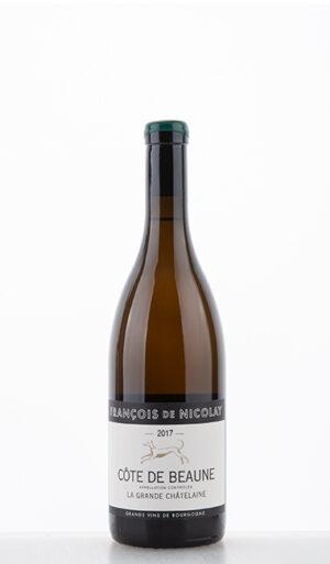 Côtes de Beaune La Grande Chatelaine blanc 2017 François de Nicolay