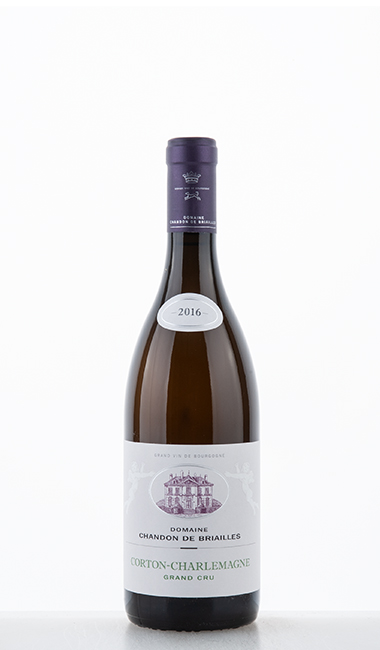 Corton Charlemagne Grand Cru blanc 2016 Chandon de Briailles