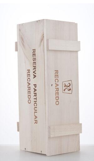 Holzkiste für eine 750ml Flasche Reserva Particular 2004 NV Recaredo