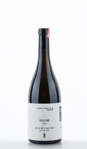 Riesling Riede Steiner Schreck This is not a love song 2016 HM Lang