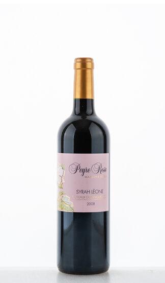Syrah Léone 2008 Peyre Rose