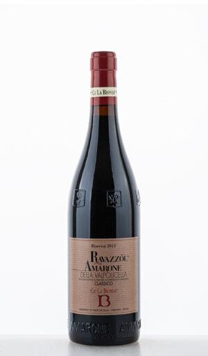 Amarone della Valpolicella Classico DOC Vigneti di Ravazzol Riserva 2012 Veneto