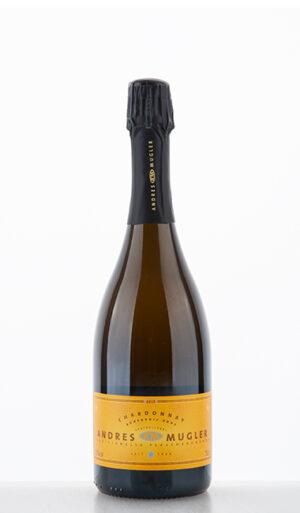 Chardonnay Auxerrois Sekt Brut 2017 Andres Mugler 1