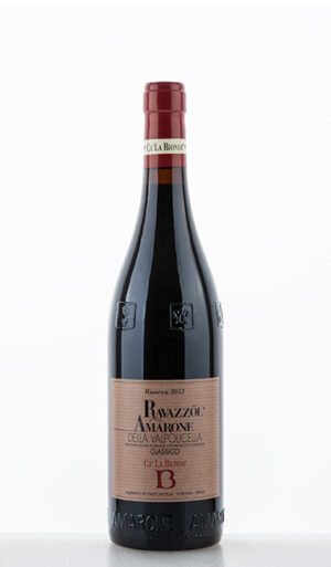Amarone della Valpolicella Classico DOC Vigneti di Ravazzol Riserva 2012 –  Ca'La Bionda