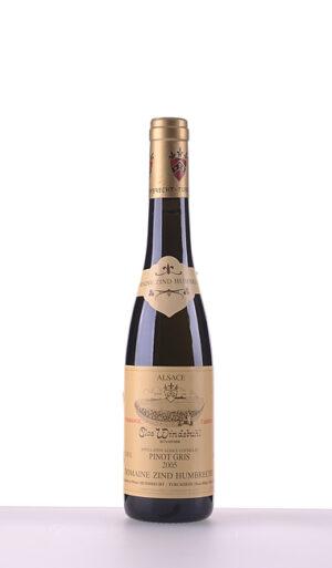 Pinot Gris Clos Windsbuhl Vendanges Tardives 2005 375ml –  Domaine Zind-Humbrecht
