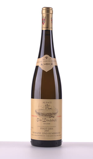 Pinot Gris Clos Windsbuhl Vendanges Tardives 2005 –  Domaine Zind-Humbrecht