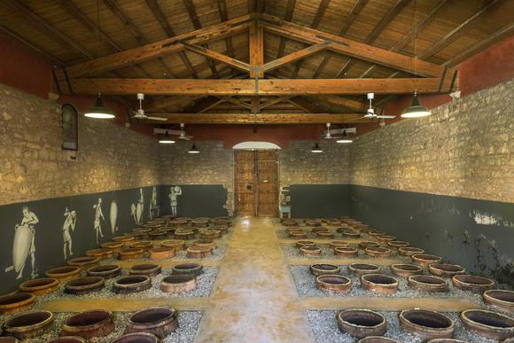 cos amphorae cellar