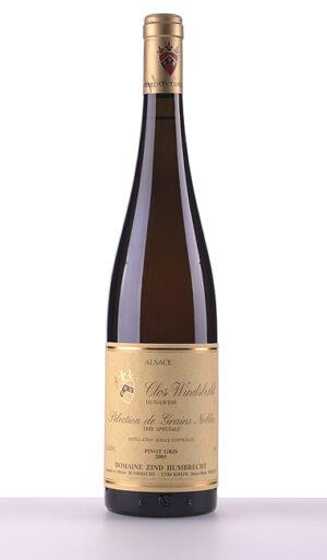 Pinot Gris Clos Windsbuhl Trie Speciale Sélection de Grains Nobles 2005 –  Domaine Zind-Humbrecht