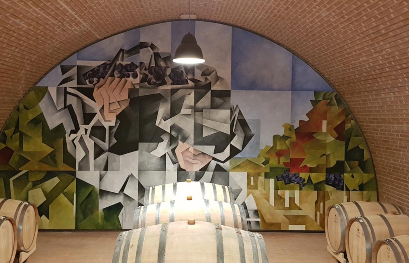 mural julio sendino en valdemonjas critica realizada por guillermo rivera