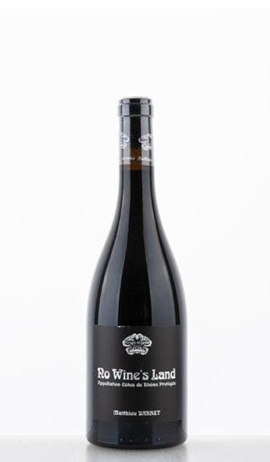 """Côtes Du Rhône """"No Wine's Land"""" rouge 2019 –  Du Coulet"""