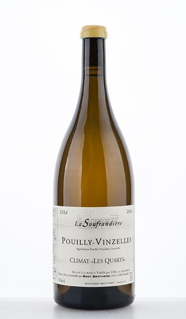 """Pouilly-Vinzelles Climat """"Les Quarts"""" 2016 1500ml –  La Soufrandière"""