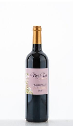 Syrah Léone AOC 2008 –  Peyre Rose