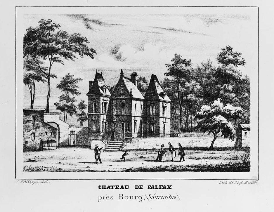 château de falfas falfax