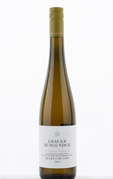 Grey Burgundy Quartz and Loess 2020 - Michael Andres