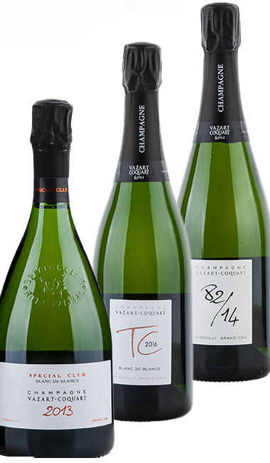 Tasting package Champagne Vazart-Coquart Top-Cuvée 2021 - Tasting package