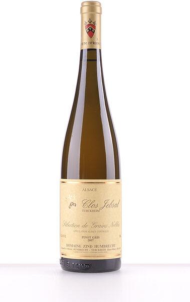 Domaine Zind-Humbrecht Pinot Gris Clos Jebsal Sélection de Grains Nobles 2007