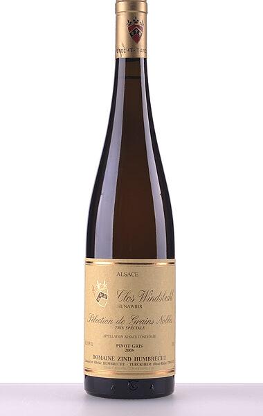 Domaine Zind-Humbrecht Pinot Gris Clos Windsbuhl Trie Speciale Sélection de Grains Nobles 2005