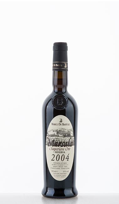 Marco de Bartoli Marsala Superiore Oro Riserva 2004 DOC 2004 500ml