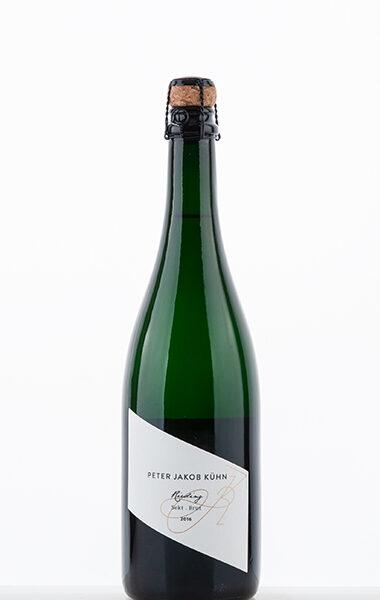 Peter Jakob Kühn Riesling Sekt Brut traditional bottle fermentation 2016