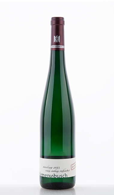 """Riesling """"vom roten Schiefer"""" late release 2015"""