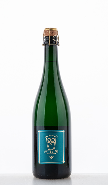 Riesling Sekt Brut Nature traditional bottle fermentation 2018